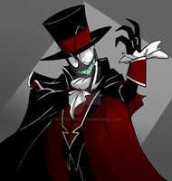 Phantom Black hat by WhiteFox89