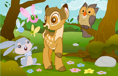 My little Bambi by marinpoppins