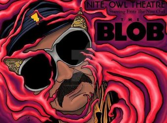 The Blob by monsterartist