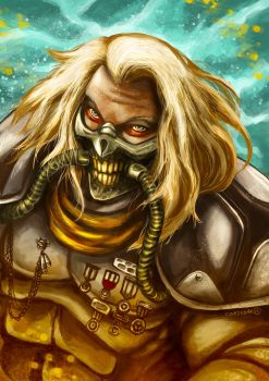 Immortan Joe - God from Madmax Fury Road by DeDorgoth