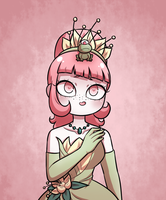princess and the frog by crowwithashortcake