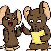 Mice 3 by Zacuraptor
