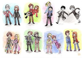 Fav Doctor/companion duos by Grandkhan