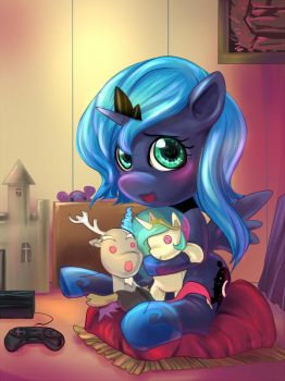 MLP: Alone for a day. by bakki
