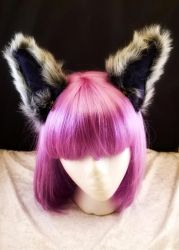 I'm all ears! Gray fur by cupcakedoll
