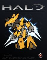 Halo- Elite General Chibi by alphanite