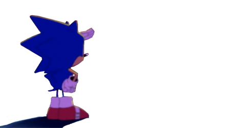 Sonic Looking Into The Distance Template by REDBIRD030