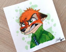 Nick Wilde by moondaneka
