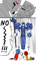 Knightformers: Father's worry 2 by iloveop