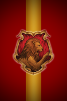 Gryffindor iPhone wallpaper 2 by technoKyle