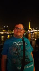 Tubich In Paris: The Eiffel Tower Night Pic by tubi4