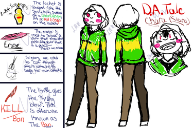 DATale Chara (Stara) by LunaMoonMags