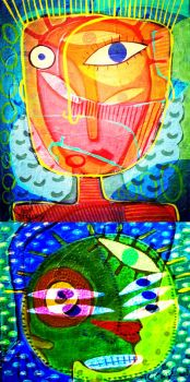double stack by stuckyart