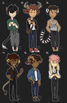 Animal Boy Adopts CLOSED by Loxiv