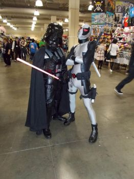 Vader and Deadpool: Friendship Is Magic by DailyCosplay
