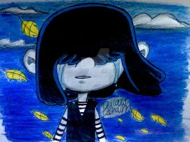 The Loud House: Tears of a shadow Lucy Loud by artdemaurialashawn21