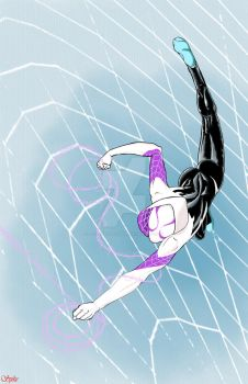 Gwen Stacy Spider-Woman by Ari-Spike-Nadelman