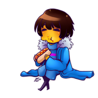 Undertale-Hot Cat by Kutori