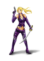 Nina Williams_re-design by NohMasked
