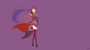 Kurami Zell (No Game No Life) Minimalist Wallpaper by greenmapple17