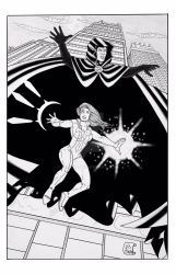 Cloak and Dagger inked by Vicnyc