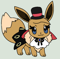 Eevee Dez Halloween Costume by BluethornWolf