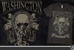 WASHINGTON D.C. t-shirt by isisdesignstudio