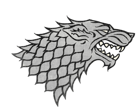 Game of Thrones House Stark Sigil Render by Titch-IX