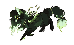 Emerald night [Adoptable] CLOSED by Endber
