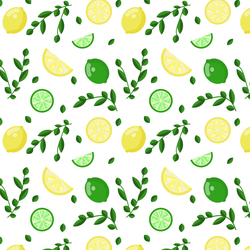 Lemon Lime Pattern by michellecreatesstuff