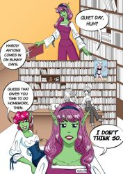 The Bookshop page 4A by Lanisatu
