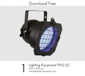 Lighting Equipment PNG 02 by manuelvelizan
