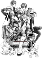 Ouran Group: 2 years!! by Detoreik
