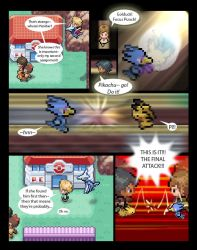 pokemon sprite comic pg2 by AlwaysPuft11
