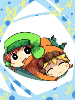 kyle and kenny by SouthParkFantasy