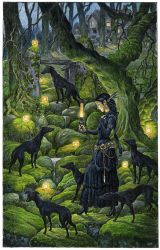 Mariana and the Black Whippets by 3-hares
