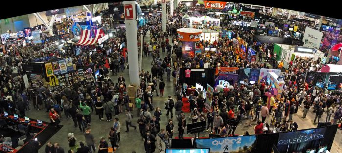 Panorama PAX East 2018 by rotane