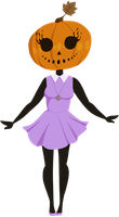 Little Miss Pumpkin by faerie-daze