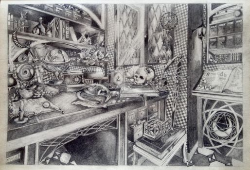 A Wizard Office by TWINS2