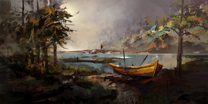 boat by KHIUS