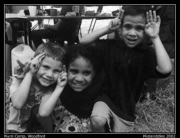 Murri Kids at Woodford by misteriddles