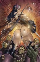 HAWKEYE INITIATIVE: Surrounded by HellboySoto