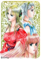 Three Ladies by Lynling