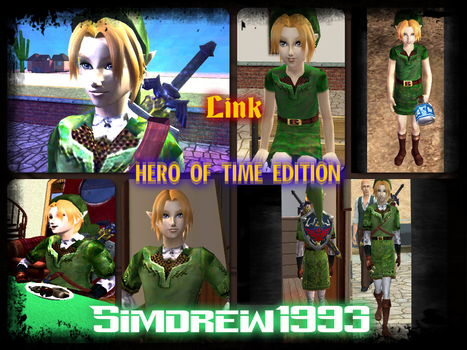 Link Hero of Time Edition - Download - Simdrew1993 by Simdrew1993