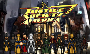 Justice Society of America (New Earth) by Nova20X