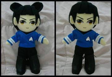 Spock by renealexa-plushie