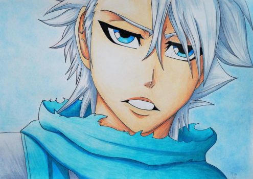 Captain Hitsugaya - Bleach by Scarlet---Sky