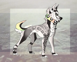 CLOSED Canine auction by Freak-of-adopts