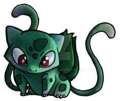 Bulbasaur by Darkenmarr