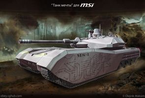 heavy tank MS-1 concept final MSI by Obey-art